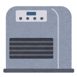 ガスファンヒーター