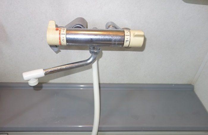 手元ストップのシャワーヘッドが使える水栓例1