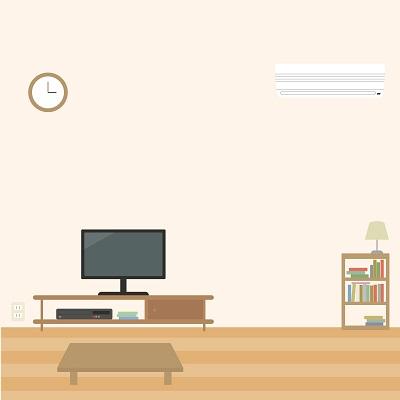 ガス床暖房で快適な部屋