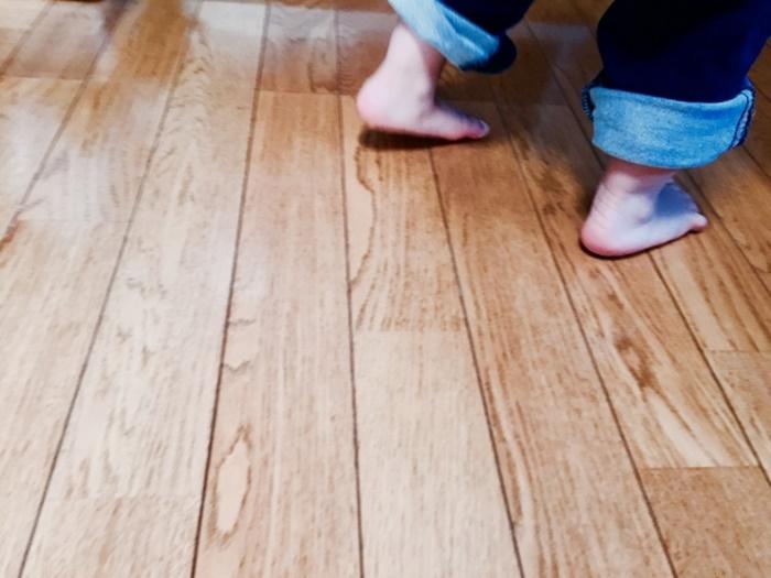 足元も暖かいガス床暖房