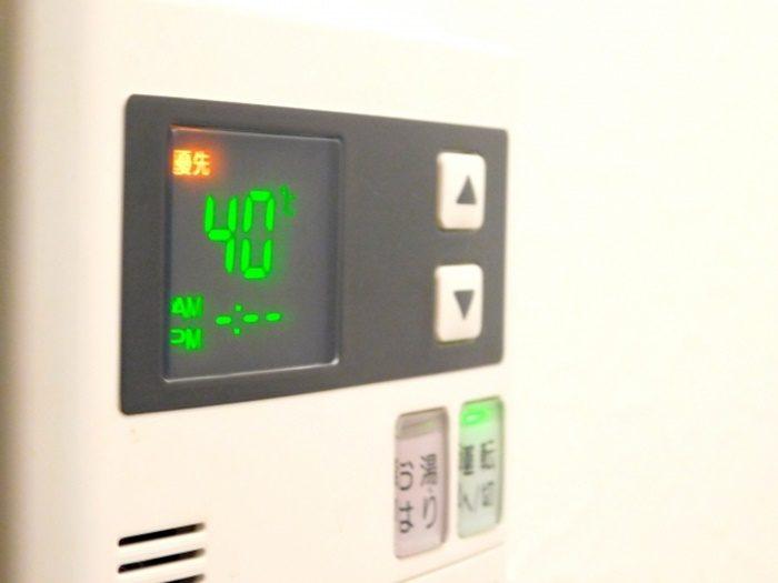 給湯器を点けっぱなしにしてもガス代は変わらないの?