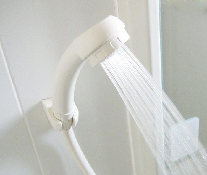 節水シャワーヘッドに変えようかな…