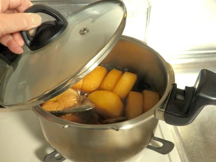 圧力鍋で美味しいご飯を!