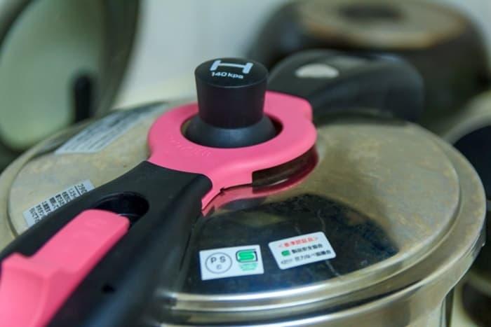 圧力鍋をきれいにしたい!