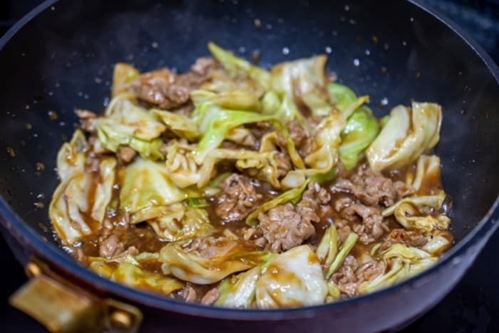 焦げを落としたら回鍋肉を作りたいな!